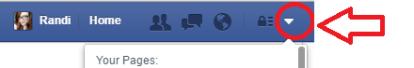 facebookdropdown