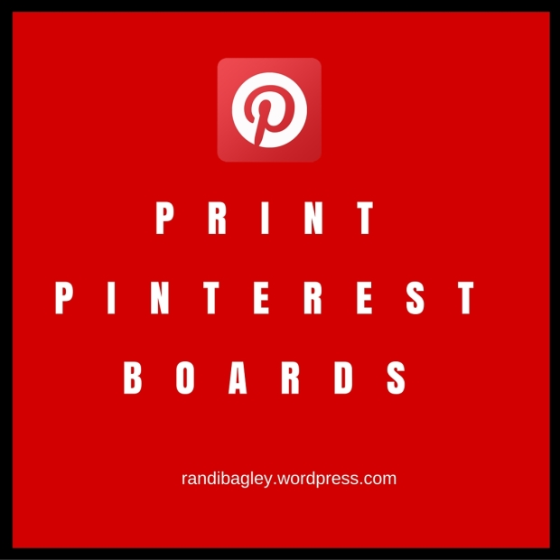Print Pinterest boards with only images